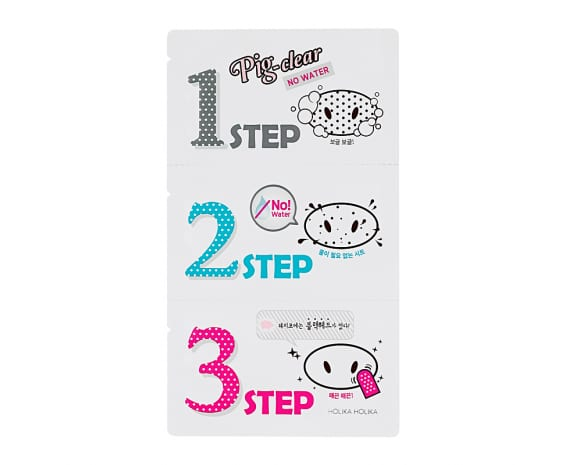Pig Clear Blackhead 3-Step Kit (No Water)