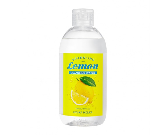 Sparkling Lemon Cleansing Water