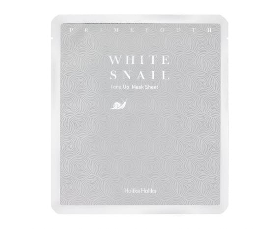 Prime Youth White Snail Tone Up Mask Sheet