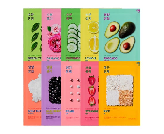 """Pure Essence Mask Sheet"" set"